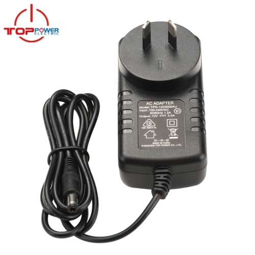 AU plug 24V 1.5A AC Adapter