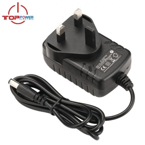 12V 2A UK Plug Power Adapter