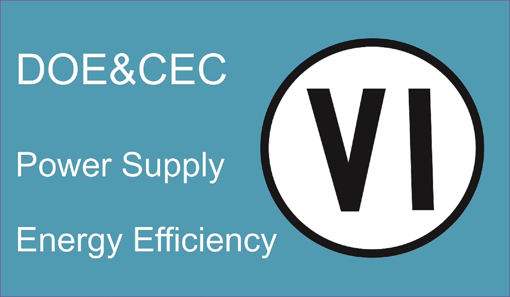 The latest required Energy Efficiency level VI in USA